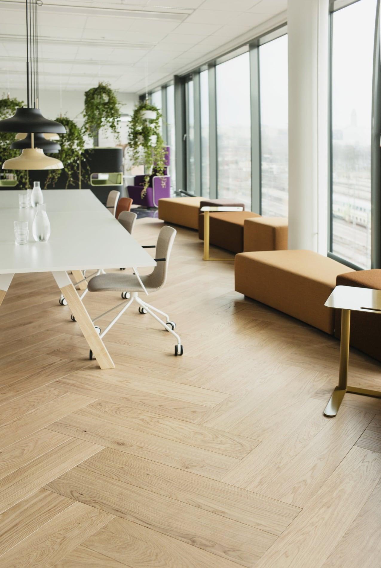 Timberwise parketti puulattia wooden floor design parquet double kalanruoto herringbone fishbone Tammi Oak Nordic_pysty1