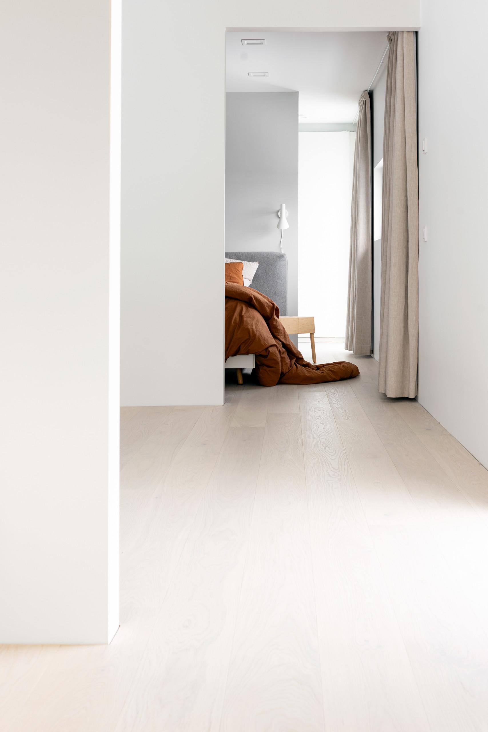 Timberwise parketti puulattia wooden floor parquet Tammi Oak White Cream