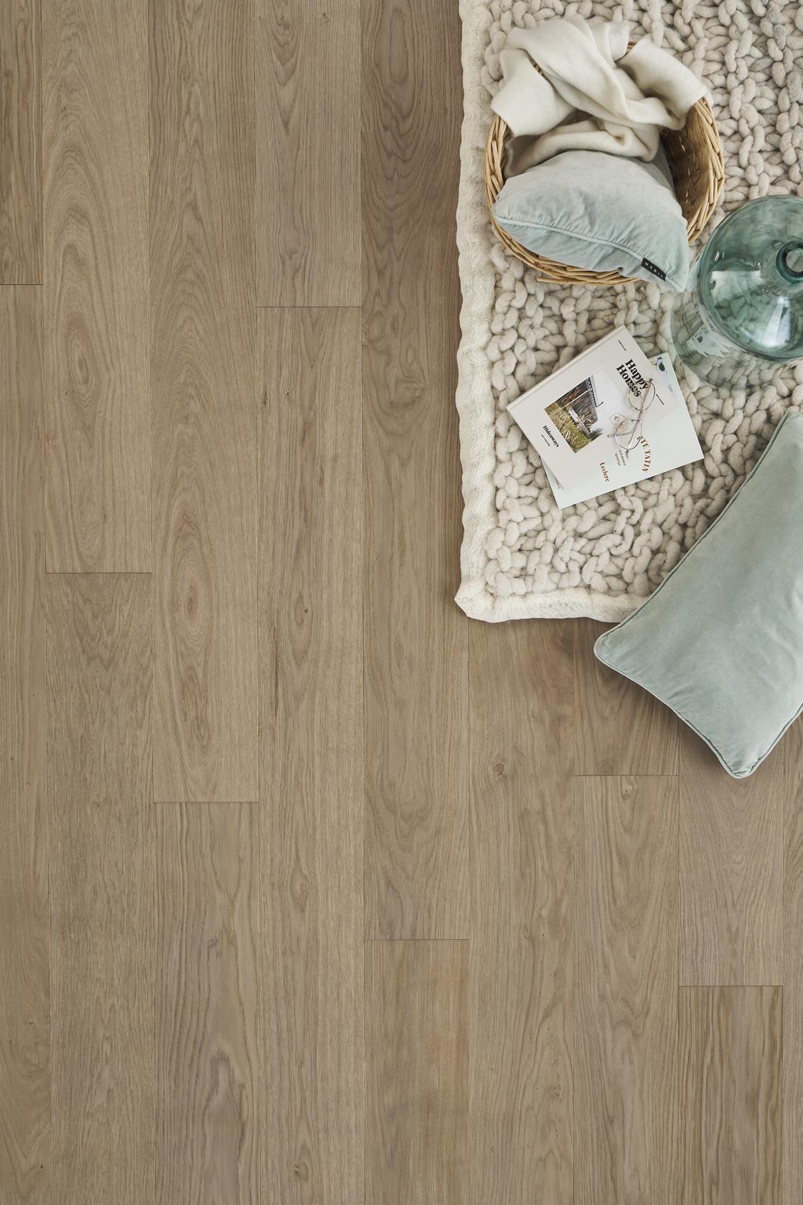 Timberwise parketti puulattia wooden floor parquet Tammi Oak Amore Brown