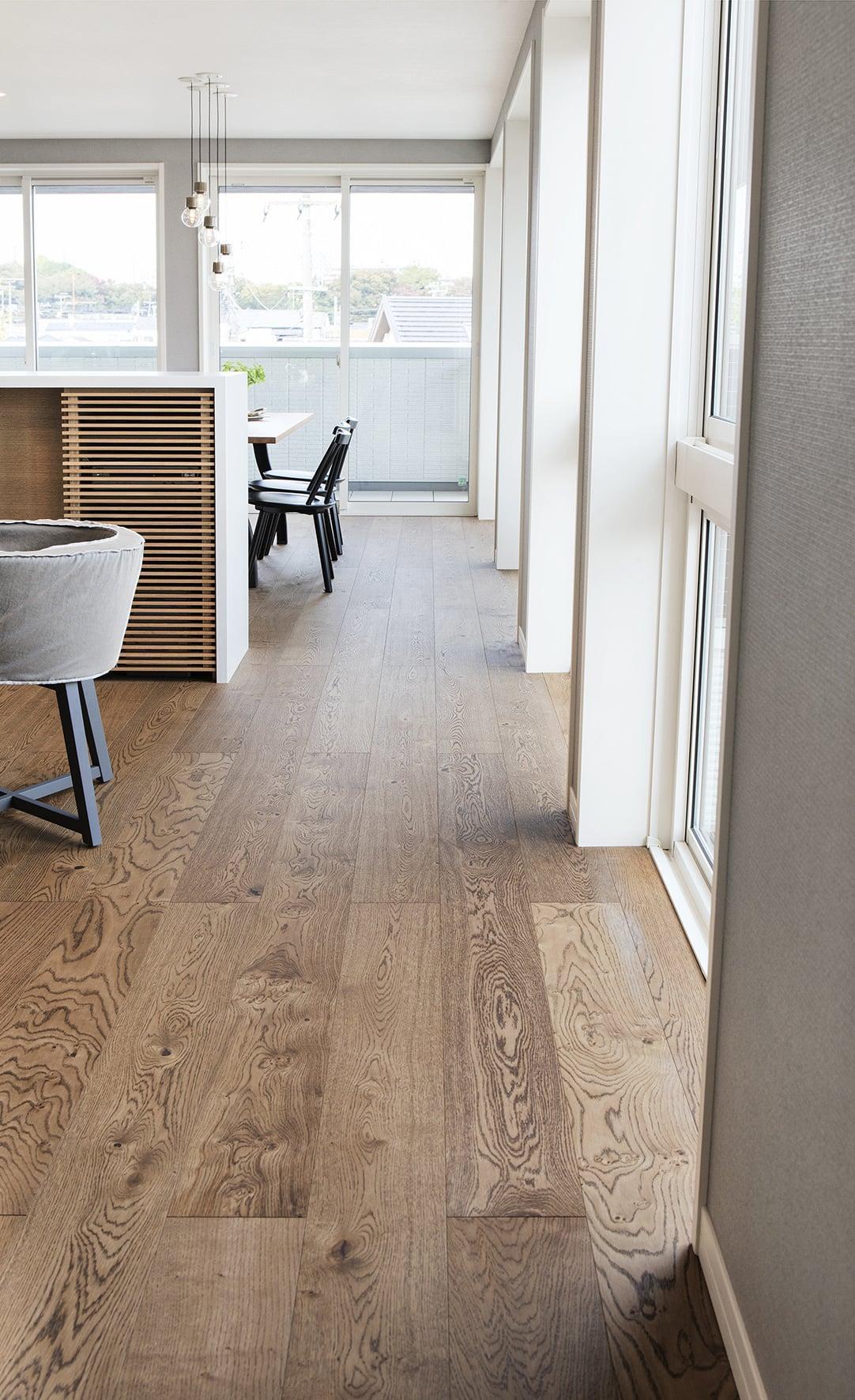 Timberwise parketti puulattia wooden floor parquet Tammi Oak Antique