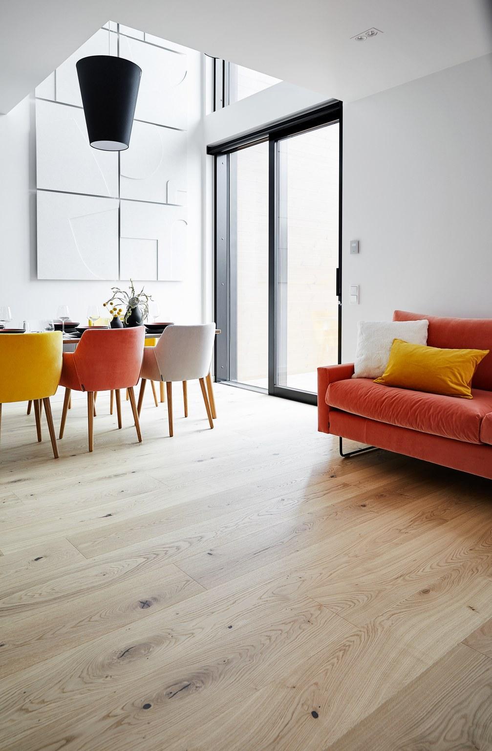 Timberwise parketti puulattia wooden floor parquet Tammi Oak Nordic