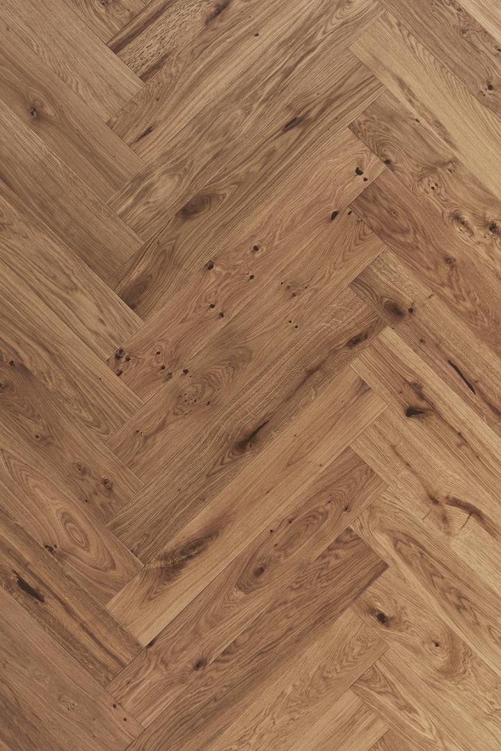 Timberwise Tammi Oak Rustic Herringbone Wax Oilel