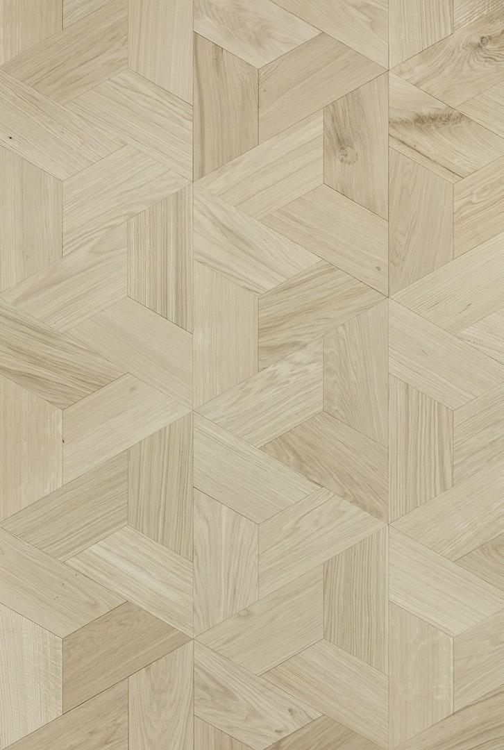 Timberwise-Tammi-oak-Kolmio-hiottu-sand-puuvalmis-untreated-2D (1)