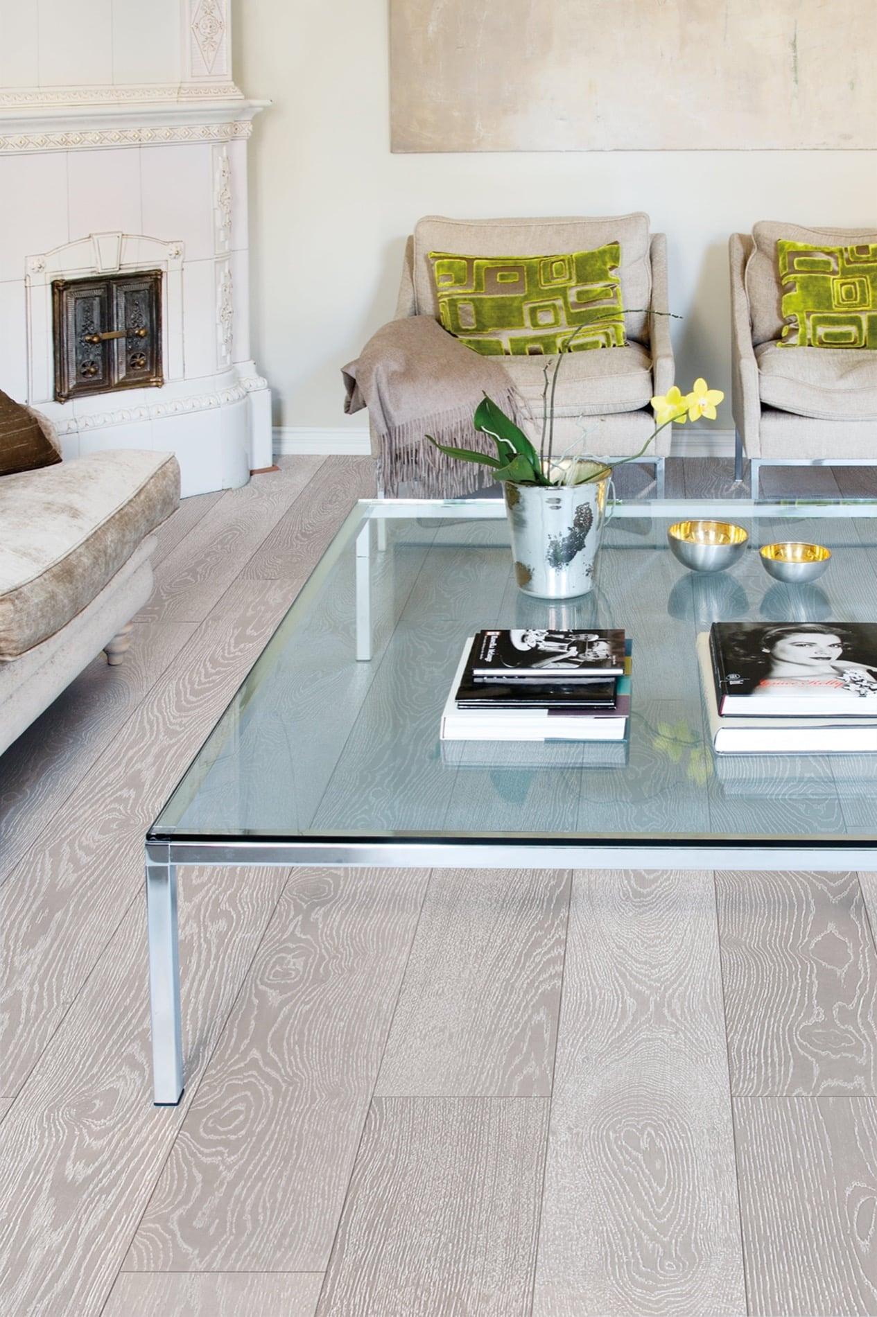 Timberwise parketti puulattia wooden floor parquet Tammi Oak Silver_pysty1