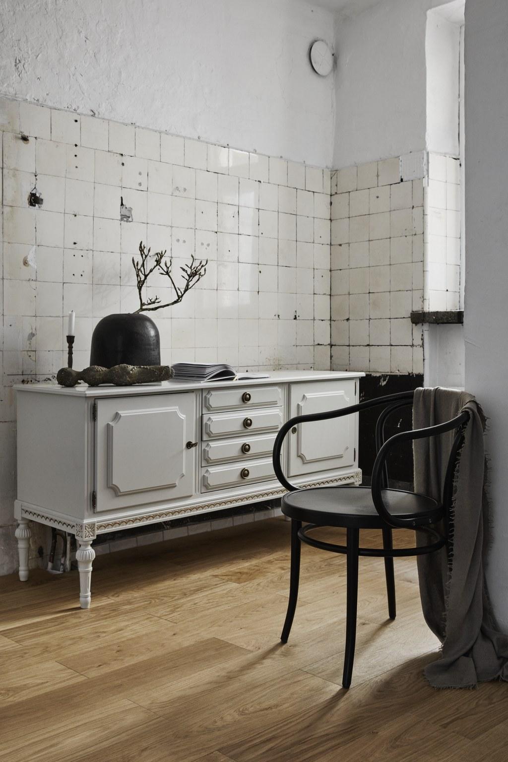 Timberwise Tammi Oak Tile Pattern 185x925mm Harjattu Brush Oljyvahattu Waxoil Pysty